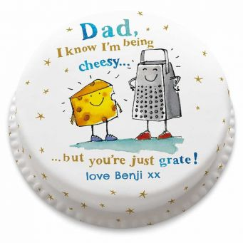 Cheesy Dad Cake