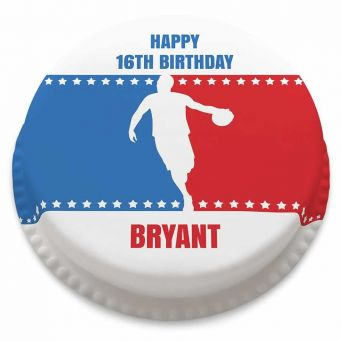 Basketball Logo Cake