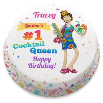 Cocktail Queen Cake