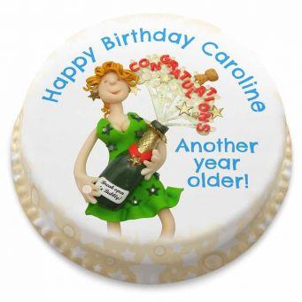 Birthday Congrats! Cake