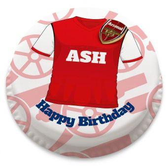 Arsenal Themed Shirt Cake