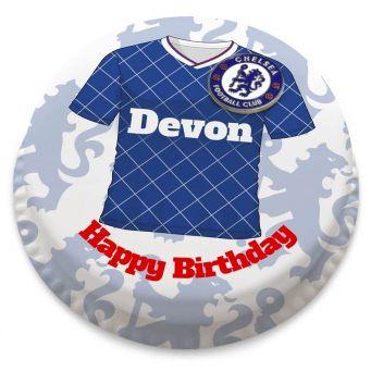 Chelsea Themed Shirt Cake