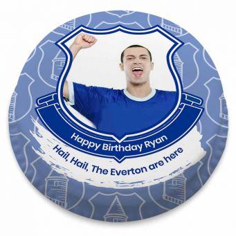 Everton F.C. Themed Photo Cake