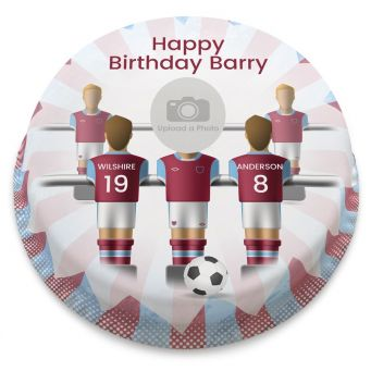 The Hammers Photo Cake