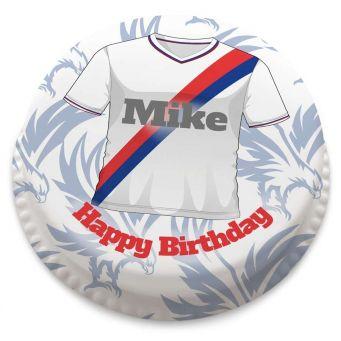 Crystal Palace FC Themed Shirt Cake