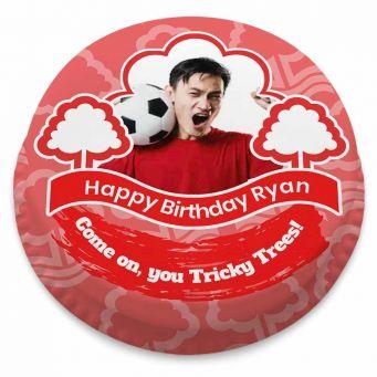 Nottingham Forest FC Themed Photo Cake