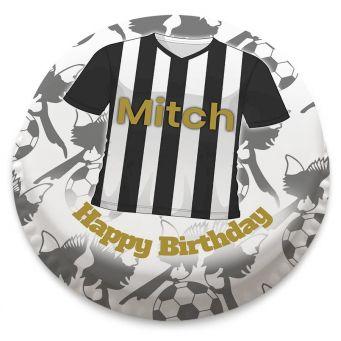 Notts County F.C Themed Football Shirt Cake