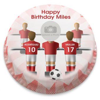 Bayern Munich Themed Photo Cake