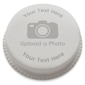 Full Photo Upload Cake with Text