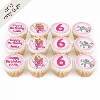 12 Fairy Princess Cupcakes