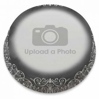 Chalkboard Full Photo Cake