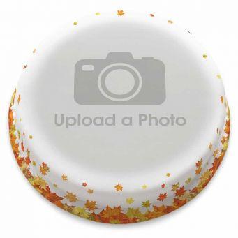 Leafy Full Photo Cake