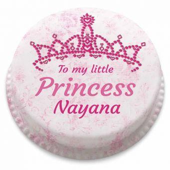 Little Princess Tiara Cake