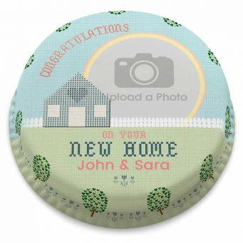 New Home Photo Cake