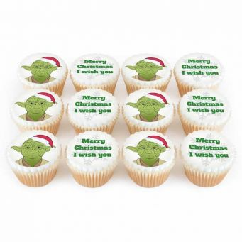 12 Christmas Master Cupcakes