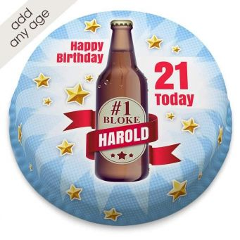 #1 Bloke Beer Cake