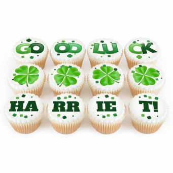12 Good Luck Cupcakes