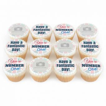 12 No.1 Man Cupcakes