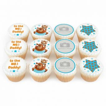 12 No.1 Ted Cupcakes