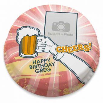 Cheers! Photo Cake