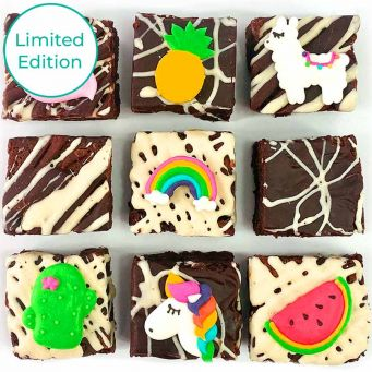 Limited Edition Tropical Brownies