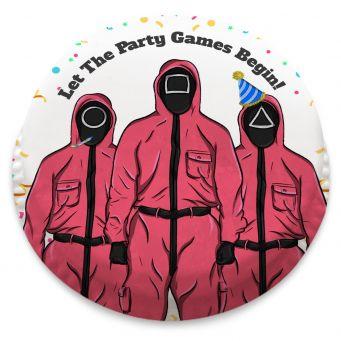 Games Masked Men Cake
