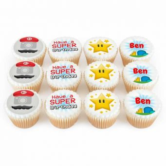 12 Super Gaming Cupcakes