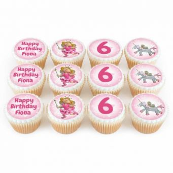 12 Fairy Princess Cupcakes