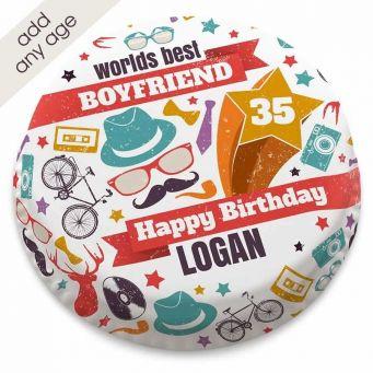 Hipster Birthday Cake