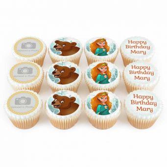 12 Heroic Princess Cupcakes