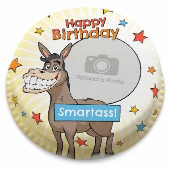 Funny Donkey Photo Cake