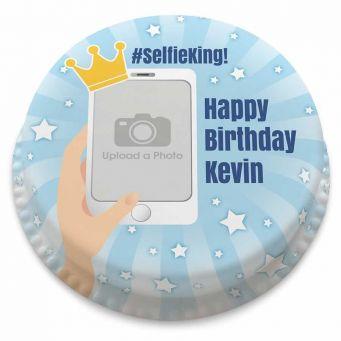 Selfie King Cake