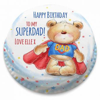 Super Dad Ted Cake
