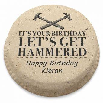 Let's Get Hammered! Cake