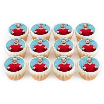 1 Photo On 12 Cupcakes