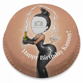 Celebrity Champagne Cake