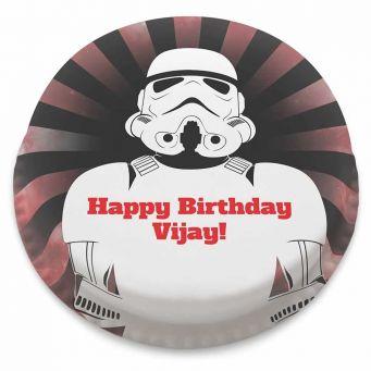 Space Trooper Cake