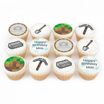 12 Mining Photo Cupcakes