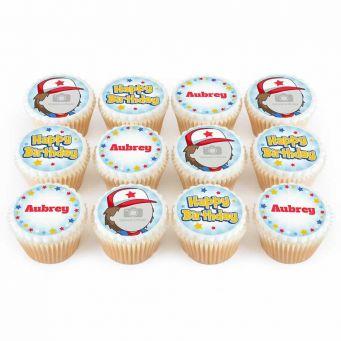 12 No.1 Trainer Cupcakes