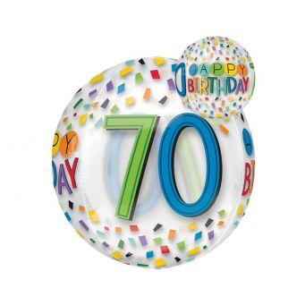 Happy Birthday 70th Balloon