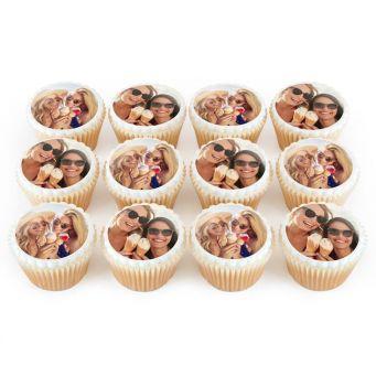 2 Photos on 12 Cupcakes
