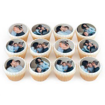 6 Photos on 12 Cupcakes