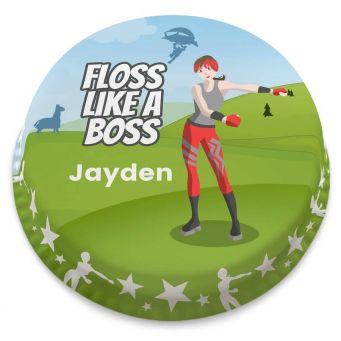 Floss Like a Boss Cake