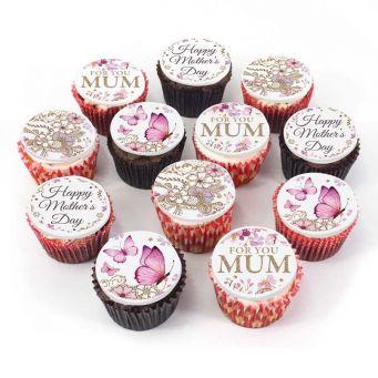 12 For Mum Cupcakes