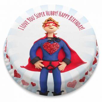 Super Hubby Cake