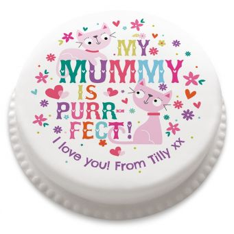 Purrfect Mummy Cake
