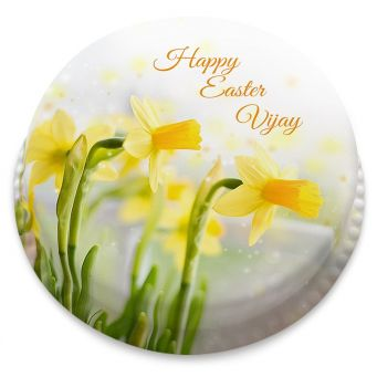 Pretty Daffodil Cake