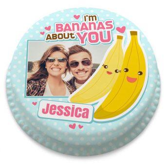 Bananas About You Cake