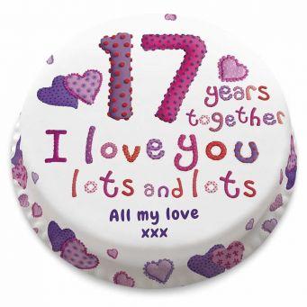 Milestone Anniversary Cake