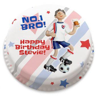 Football Figure Cake